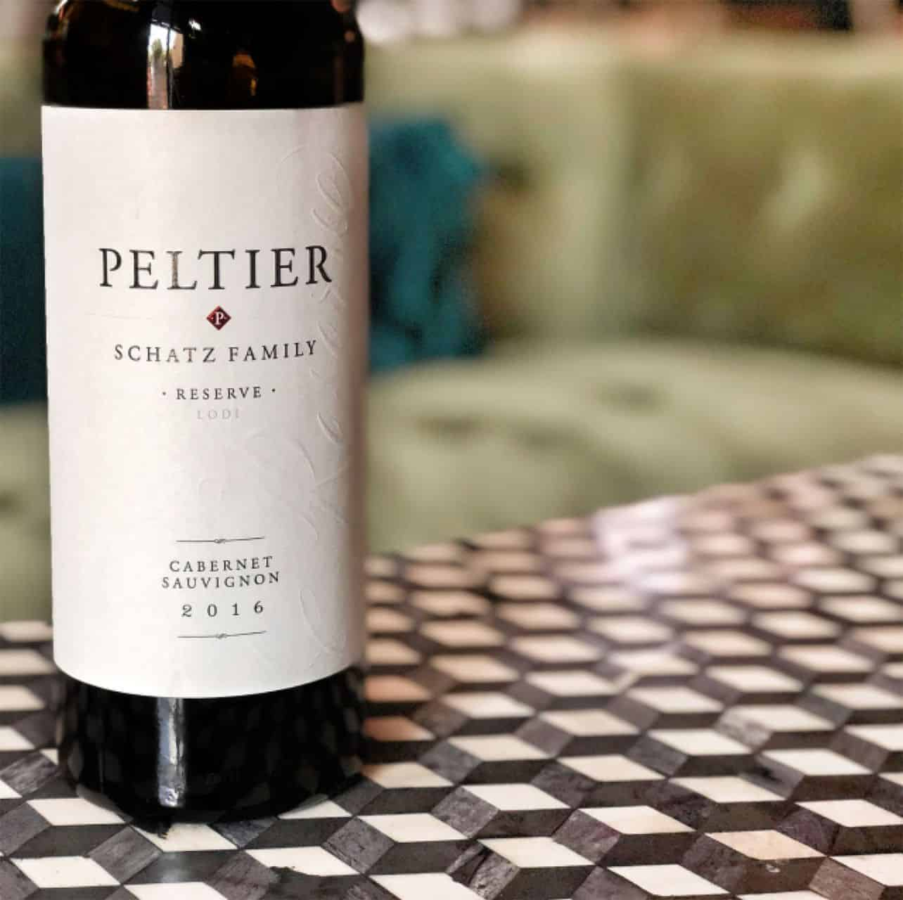 Bottle of Peltier Cabernet Sauvignon 2016