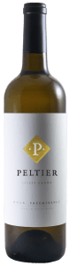 a bottle of white wine