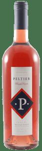 a bottle or rosé wine