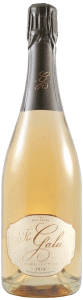 bottle of the gala sparkling wine