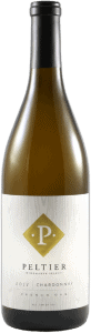 bottle of winemaker select oaked chardonnay