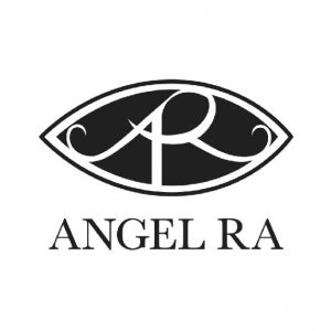 Angel Ra Logo black and white