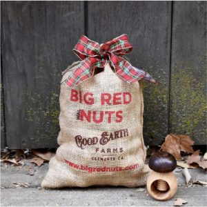 sack of big red nuts