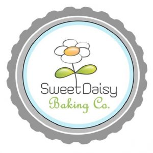 sweet Daisy baking co. logo with daisy