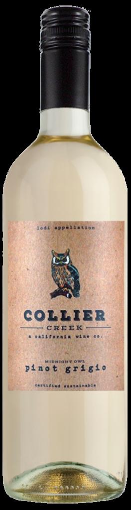 Collier creek Pinot Grigio bottle shot