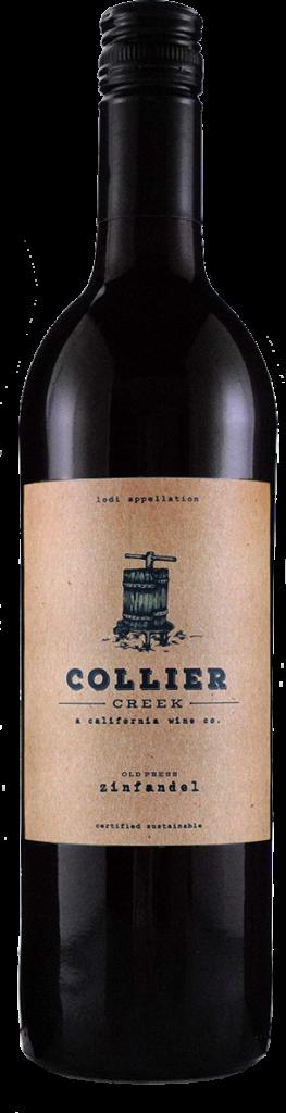 Collier Creek Zinfandel Bottle Shot