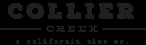 Collier Creek a California wine co black logo